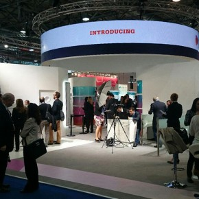 The latest digiFLEX LED screen shows off at Vienna exhibition