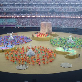 LED Floor at the European Games 2015 closing ceremony in Baku