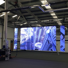 New iMAG LED Screen from digiLED is out on the road with PSP