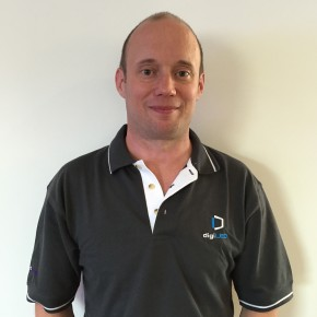 Tim Parry joins the team at digiLED
